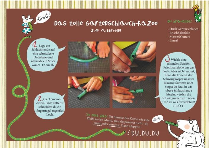 Gartenschlauch-Kazoo