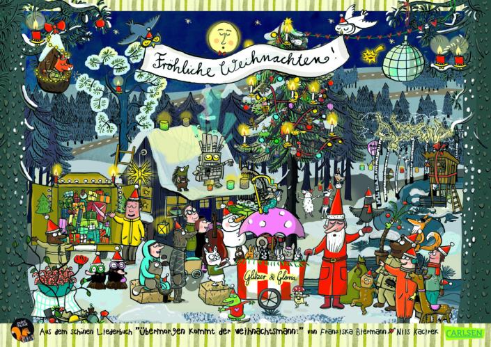 Poster Weihnachten